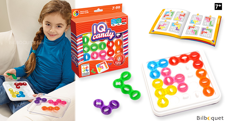 IQ-Candy - Logical Thinking Game for 1 player Smart Games