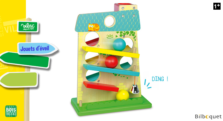 House of balls - Early Learning Wooden Toy Vilac