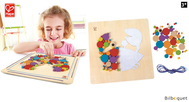 Crabby Mosaic - Creative activity Hape Toys