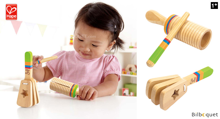 Rhythm Set - Wooden Musical Toys Hape Toys