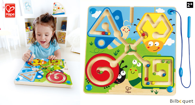 Best Bugs Magnetic Maze - Wooden Game Hape Toys