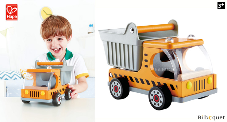 Dumper Truck - Construction Vehicles Hape Toys