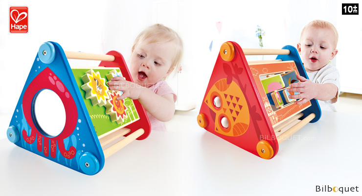 Take-Along Activity Box - Wooden Toy for Toddlers Hape Toys