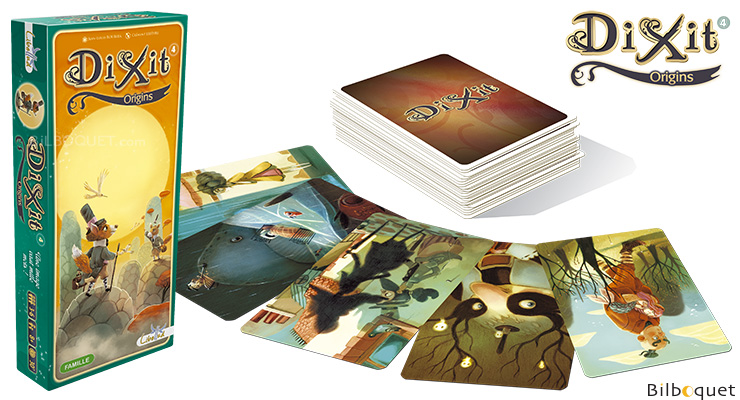 Dixit 4 Origins - Expansion for Dixit Libellud