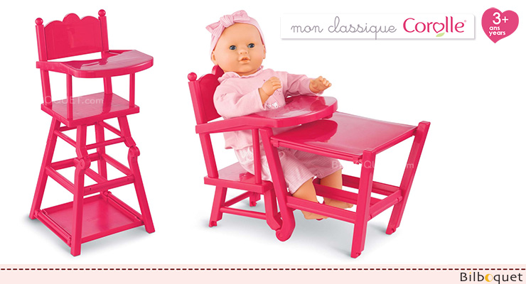 Cherry High Chair for baby dolls 36/42/52 cm Corolle