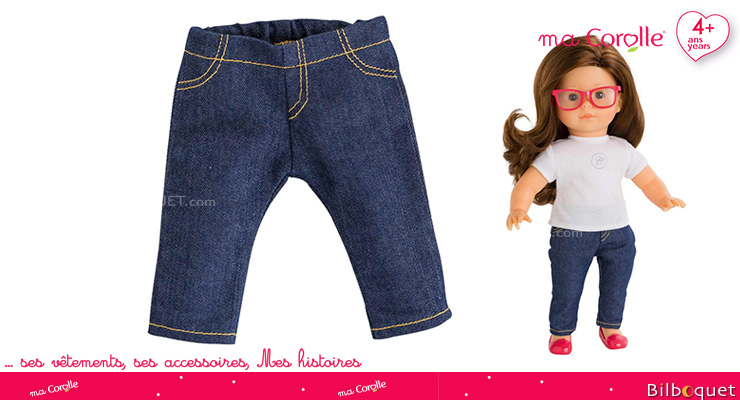Slim Jeans for Ma Corolle 36cm Doll Corolle