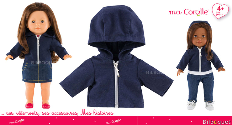 Hooded Jacket for Ma Corolle 36cm Doll Corolle