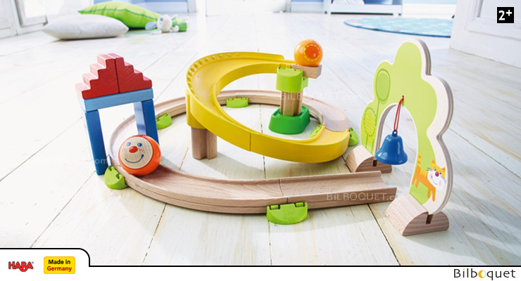 Spiral Track - Ball Track Rollerby Haba