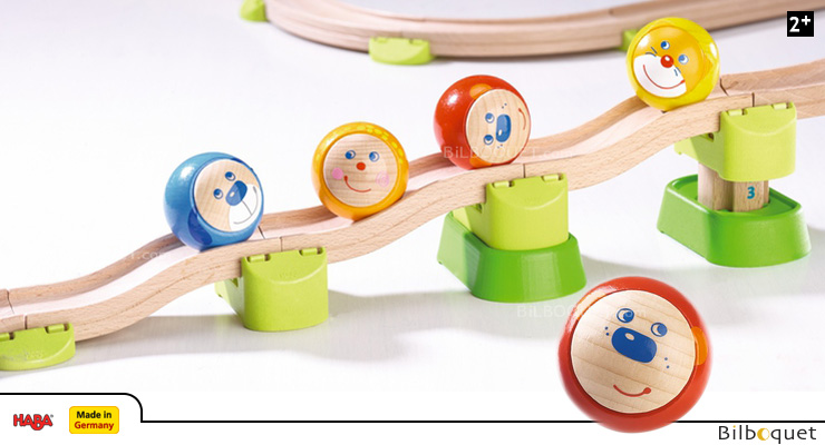 Ball for the Ball Track Rollerby - Red Haba