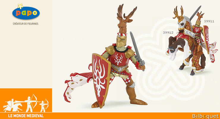 Weapon master stag - Toy Figurine Papo