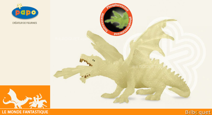 Dragon phosphorescent - Figurine en plastique Papo