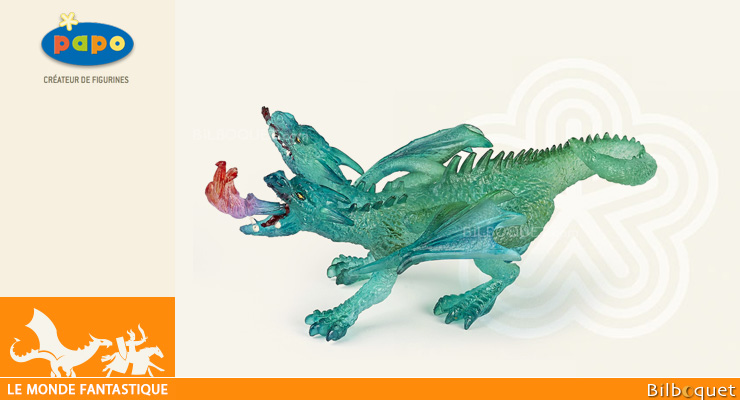 Emerald Dragon - Toy Figurine Papo