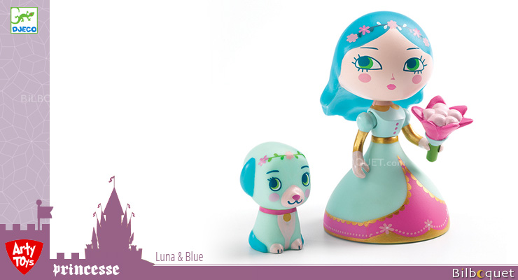 Luna & Blue - Arty Toys Tales and Legends Djeco