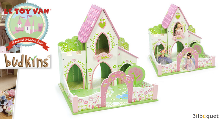 Budkins Fairy Castle - Wooden Toy Le Toy Van