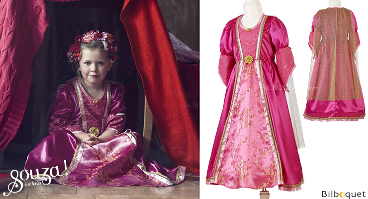 Queen's Dress Cicilia - Costume for Girl ages 5-7 Souza for kids