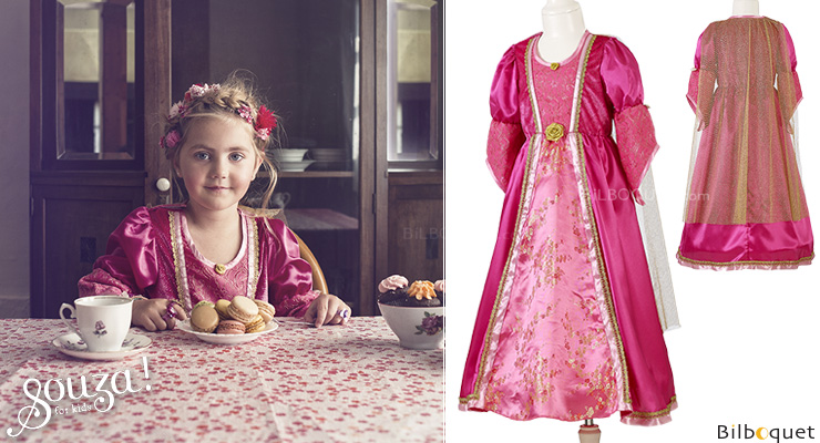 Queen's Dress Cicilia - Costume for Girl ages 8-10 Souza for kids