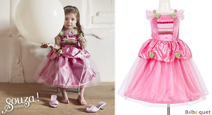 Robe de princesse Anastasia - Déguisement fille 5-7 ans Souza for kids