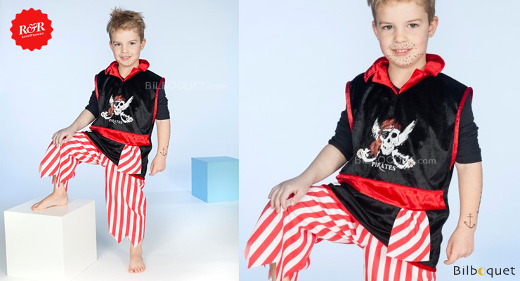 Pirate Set Gregg - Costume for boys ages 3-4 Rose & Romeo