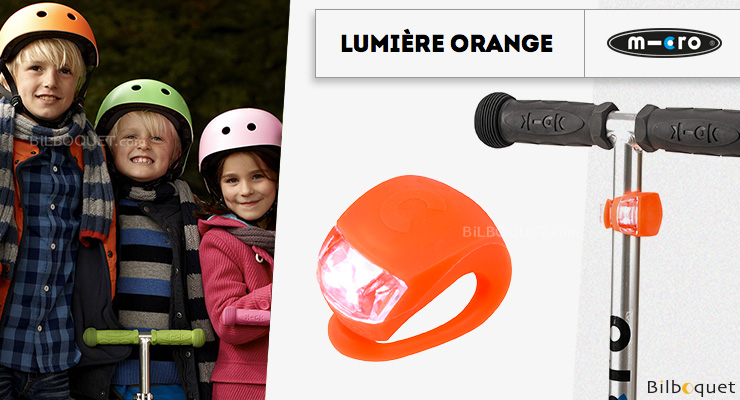 Orange Light - Micro Scooter Accessory Micro Mobility Scooters & Kickboards