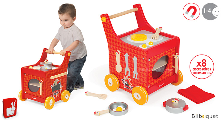Cooker Trolley The French Cocotte - Wooden Toy Janod