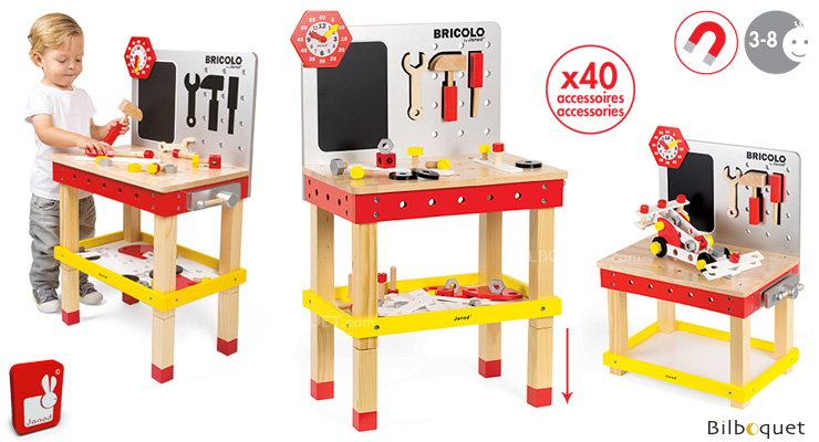 Redmaster Giant Magnetic Workbench (removable feet) Janod