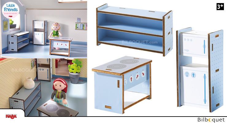 Kitchen Dollhouse Furniture Little Friends Haba