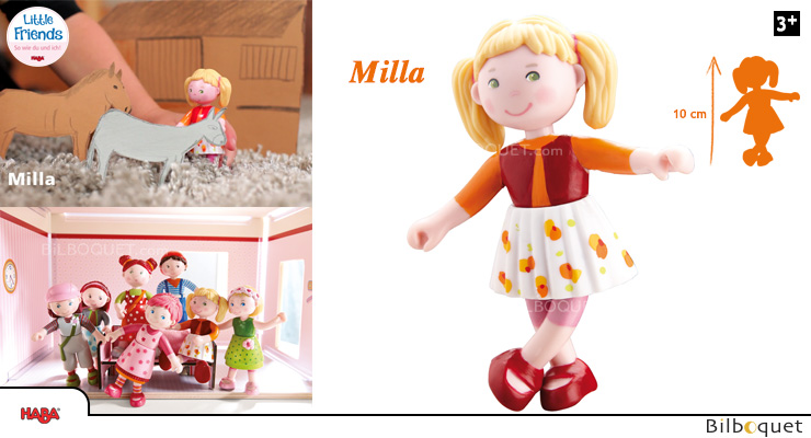 Milla Doll The Funny One - Little Friends Haba