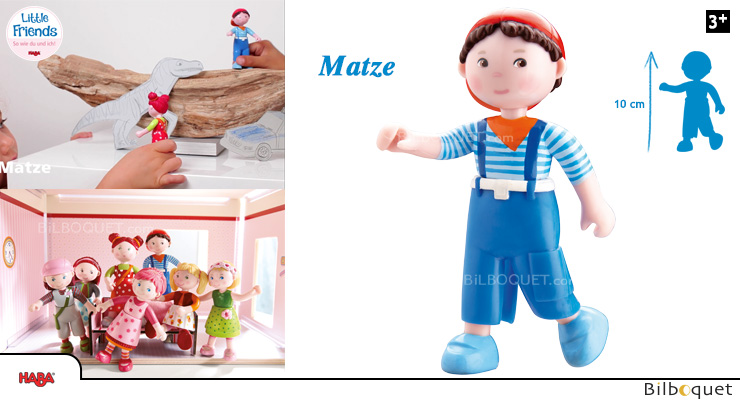 Matze Doll The Sporty One - Little Friends Haba