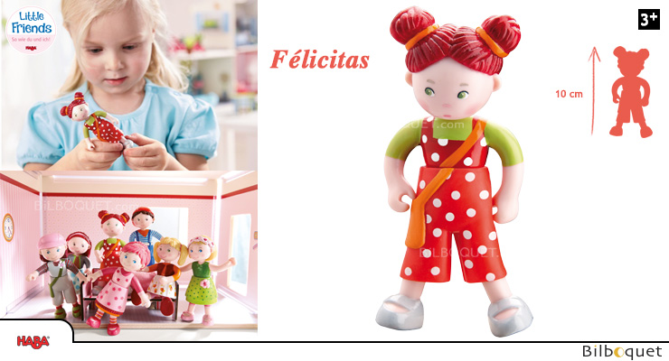Felicitas Doll The Cheeky One - Little Friends Haba
