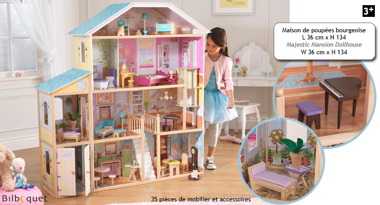 Majestic Mansion Dollhouse KidKraft