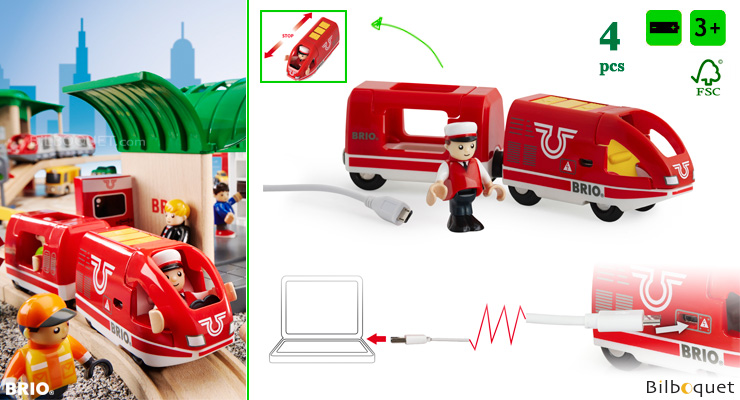 Travel Rechargeable Train BRIO