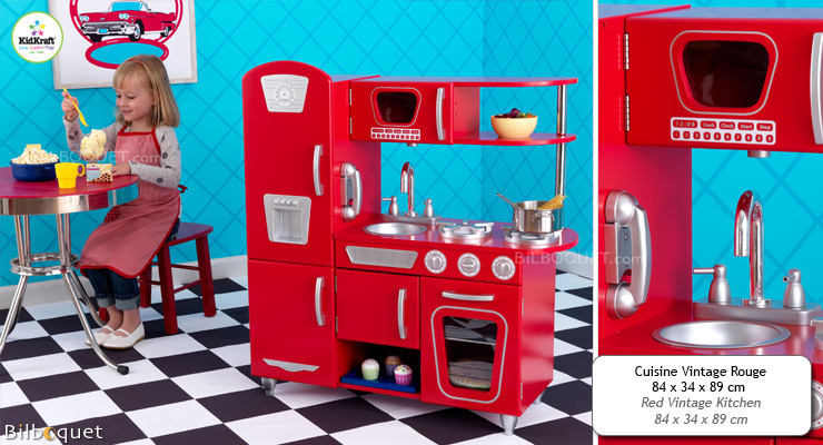 Red Vintage Kitchen KidKraft