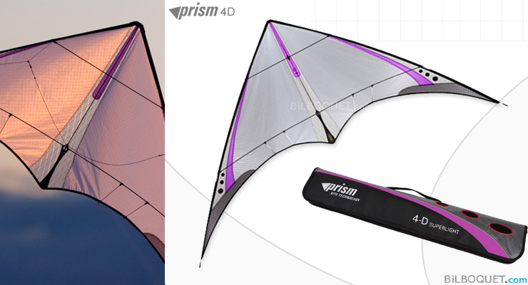 4-D ultra-light stunt kite Purple - Slight Defect Prism Kites
