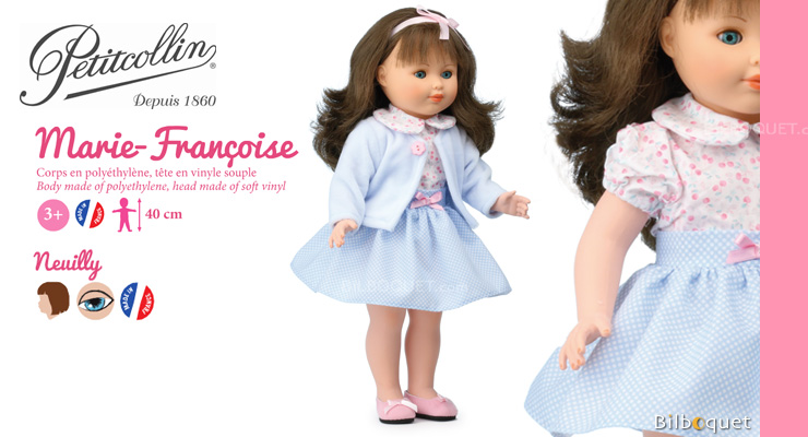 Marie-Françoise Original Doll 40 cm Neuilly Petitcollin