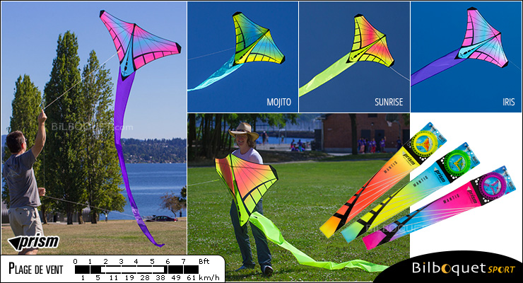 Mantis - Iris - Single-line Kite Prism Kites