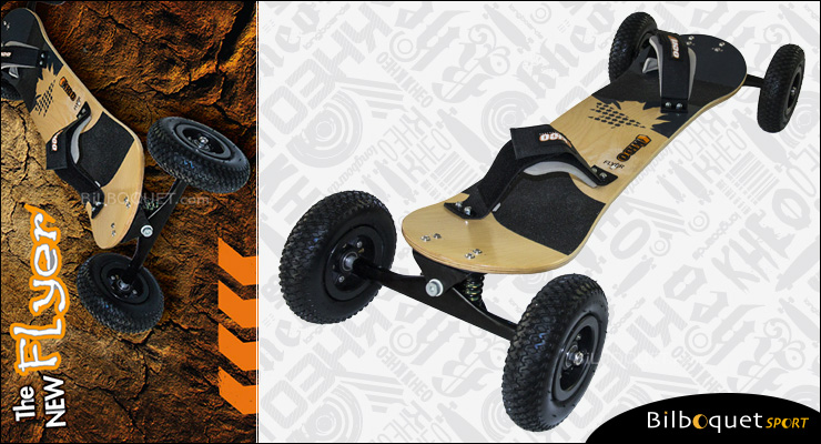 Kheo Flyer Landboard avec roues 8 pouces Kheo Mountainboards