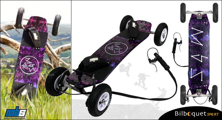 MBS Colt 90X Mountainboard - Constellation MBS Mountainboards