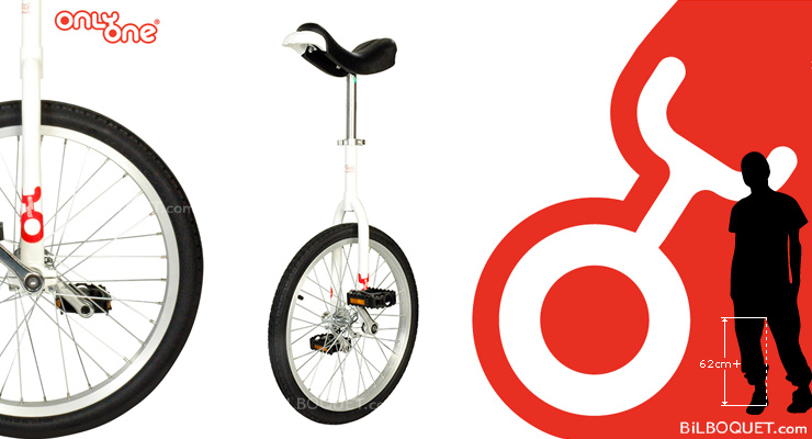 OnlyOne Unicycle Ø50cm (20 inches) white Only One