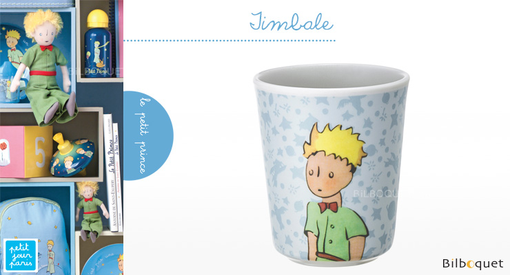 Drinking Cup Le Petit Prince BLUE - Tableware for kids Petit Jour