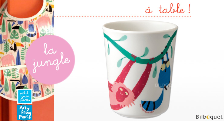 Drinking Cup The Jungle - Tableware for kids Petit Jour