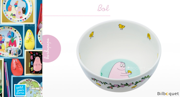 Bowl Barbapapa - Tableware for kids Petit Jour