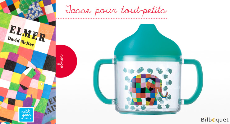 Baby's very first Cup Elmer Elephant Petit Jour