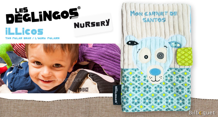 Illicos Health Book cover - Déglingos Nursery Déglingos