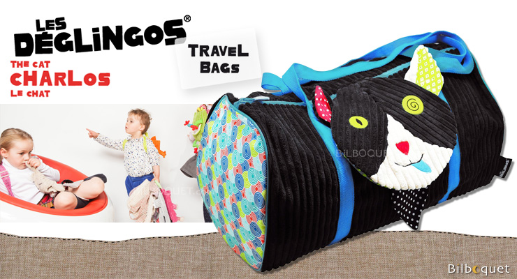 Charlos Cat Travel Bag - Déglingos Déglingos