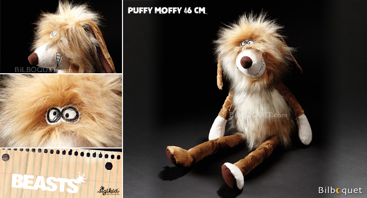 Puffy Moffy (plush dog 46cm) - Sigikid Beasts Sigikid