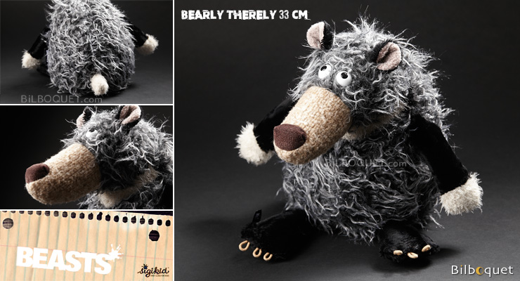 Bearly Therely (peluche ours 33cm) - Sigikid Beasts Sigikid