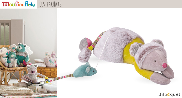 Musical Baby Doll Mouse 33cm - Les Pachats Moulin Roty