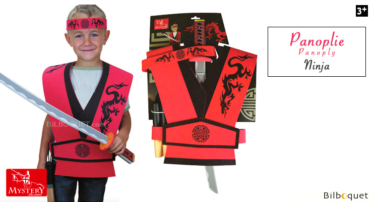 Ninja Set - Foam Costume for kids Le Coin Des Enfants
