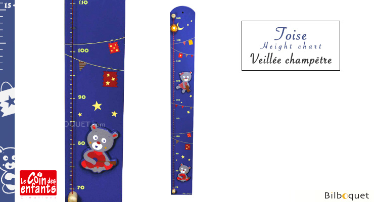 Wooden Height Chart Country Gathering Le Coin Des Enfants
