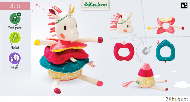 Louise pyramid - Soft Stacking Toy Lilliputiens